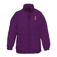 Instonians Hockey Youth Sirocco Rain Jacket - Purple 2018